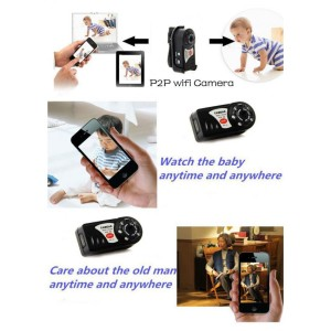 Spy Mini WiFi Q7 720P HD Mini DV Wireless IP Camera Video